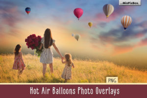 Hot Air Balloon Photo Overlays