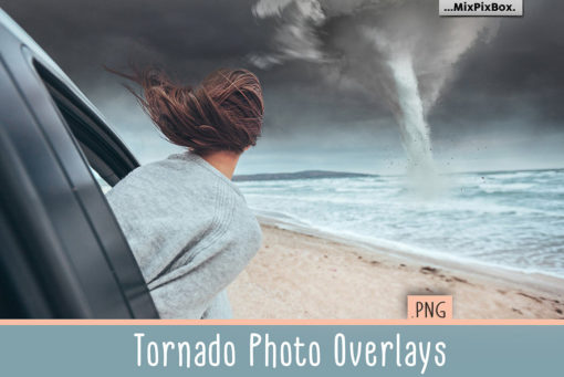 Tornado PNG Photo Overlays