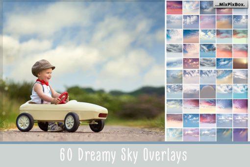 60 Dreamy Sky Photo Overlays