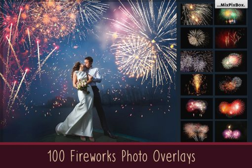 Fireworks Photo Overlays Bundle