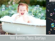 Bubbles Photoshop Overlays Bundle