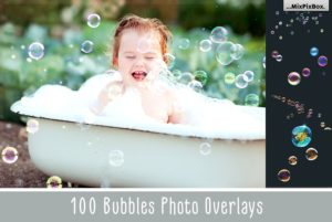 Bubbles Photoshop Overlays Bundle