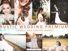 Rustic Wedding Desktop and Mobile Lightroom Presets