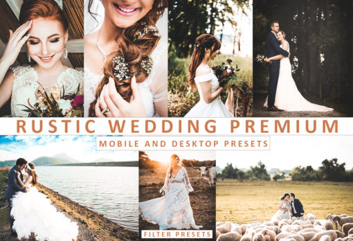Rustic Wedding Desktop and Mobile Lightroom Presets