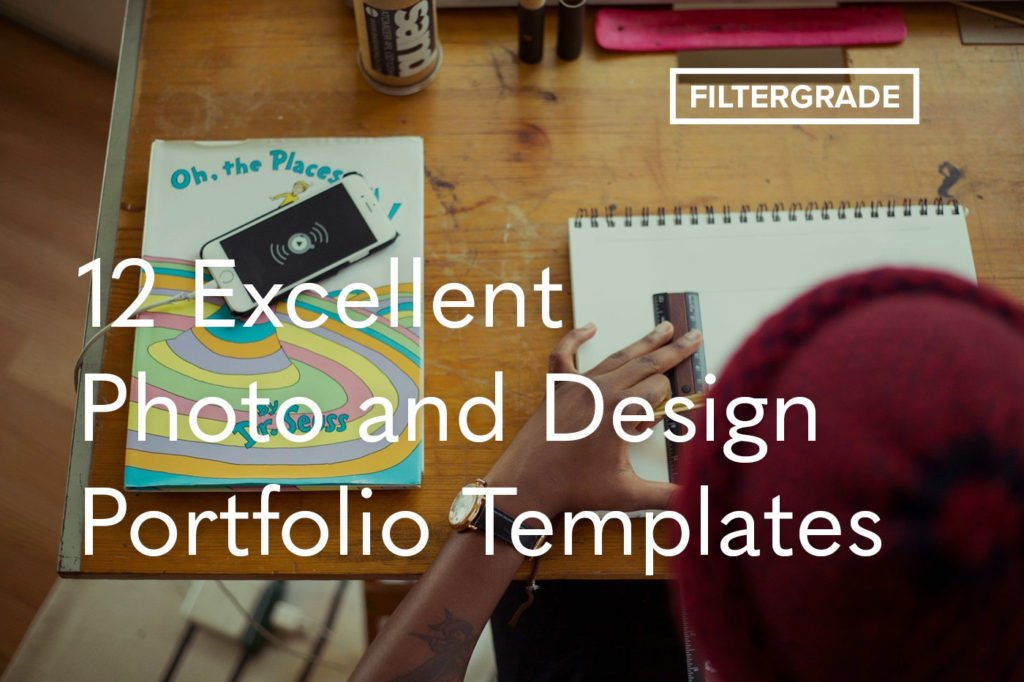 12 Excellent Photo and Design Portfolio Templates
