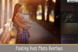 75 Floating Dust Photo Overlays