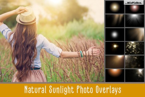 Natural Sunlight Photo Overlays by MixPixBox