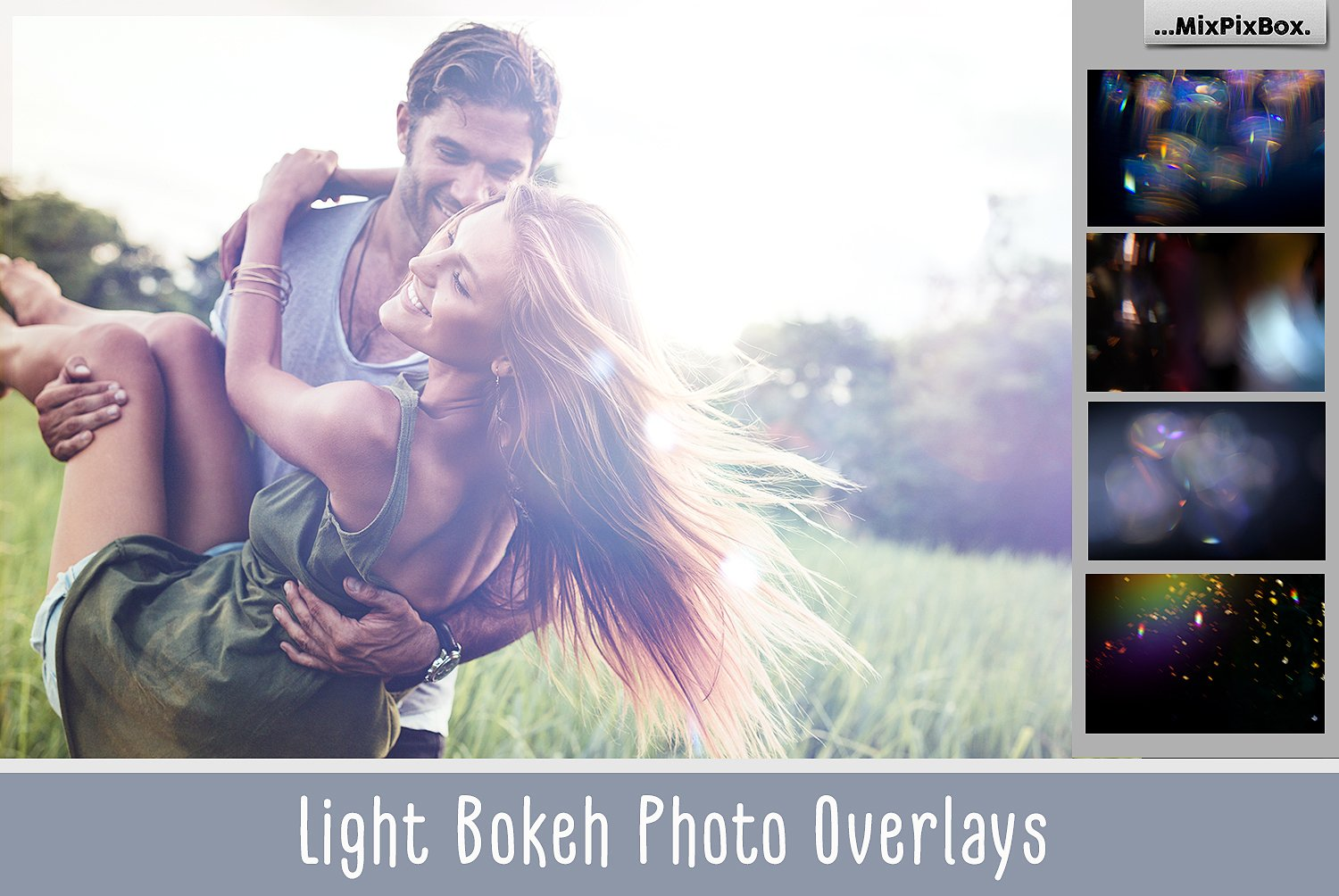 60 Light Bokeh Photo Overlays