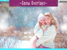 Natural Snow Photo Overlays