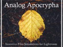 Analog Apocrypha Lightroom Presets