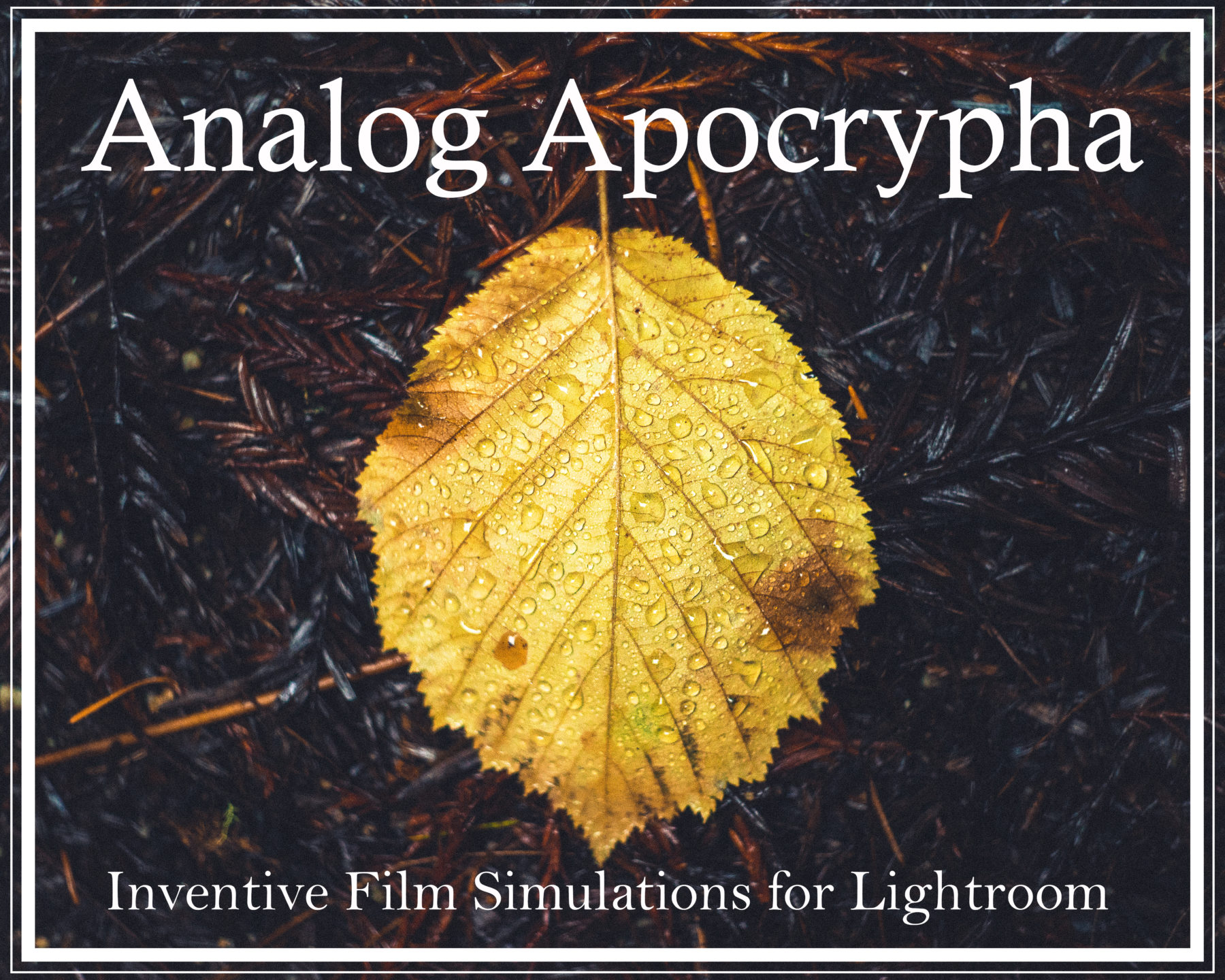 Analog Apocrypha Lightroom Presets