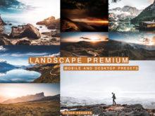 6 Stunning LANDSCAPE Lightroom Presets
