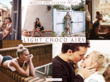 LIGHT CHOCO AIRY 8 Lightroom Mobile + Desktop Presets