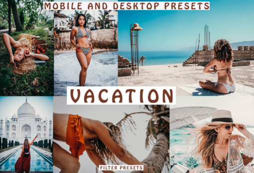 VACATION 5 Lightroom Mobile Desktop Presets