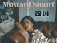 Mustard Smurf Mobile Presets by Marisa Hampe