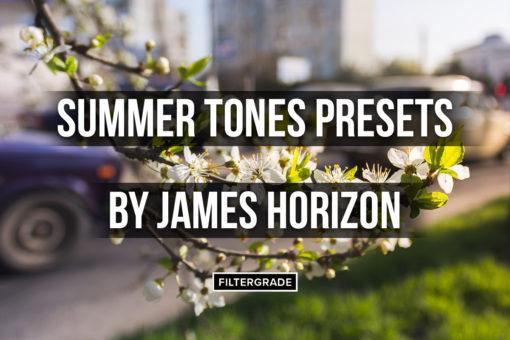 Summer Tones Presets Pack by James Horizon