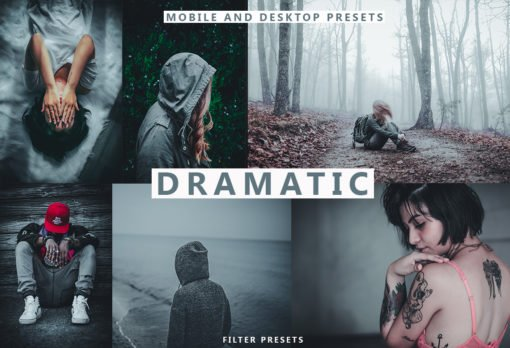 DRAMATIC 5 Lightroom Mobile and Desktop Presets