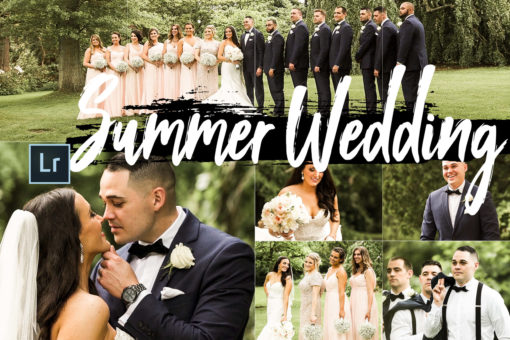5 Summer Wedding Desktop Lightroom Presets