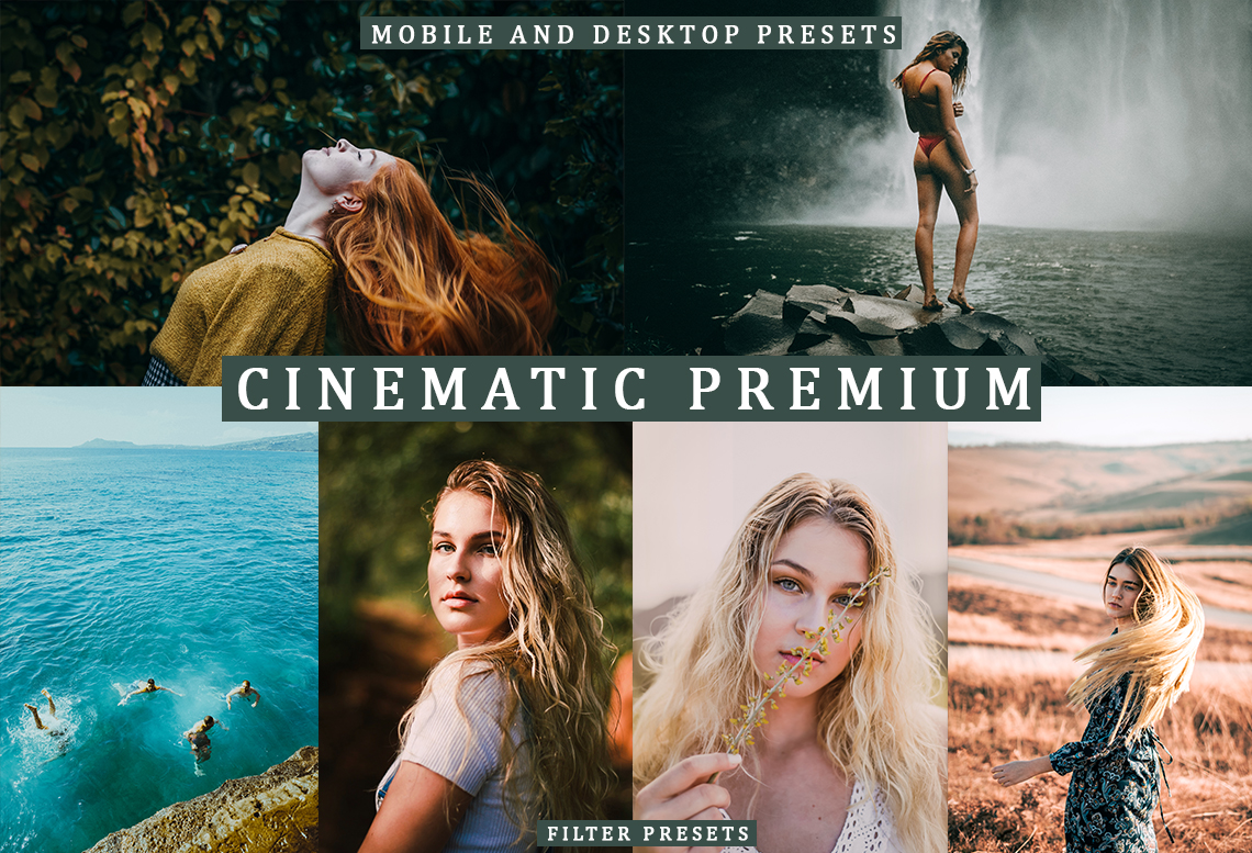 6 MOBILE DESKTOP PRESETS - Mountain Lifestyle
