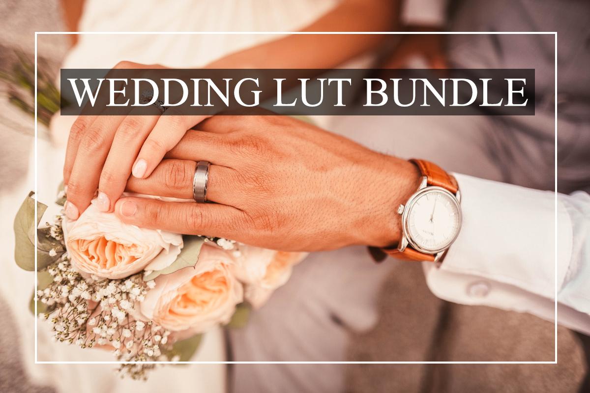 Beautiful Wedding LUTs Bundle