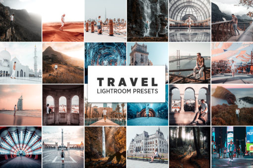 10 Travel Lightroom Presets (Desktop + Mobile)