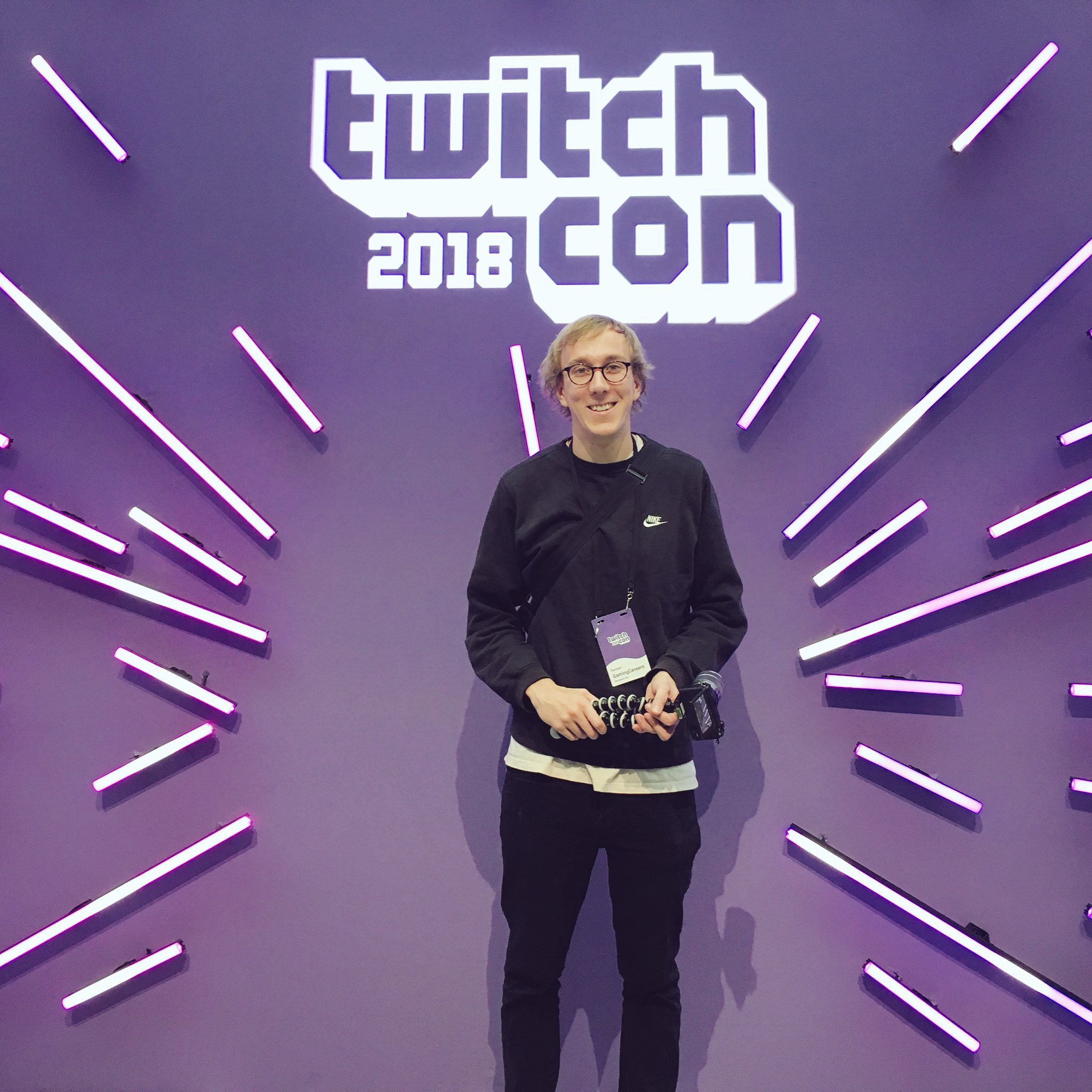 Twitch Con - Pete Wilkins of Gaming Careers
