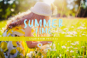 Summertime Cinematic Lightroom Presets