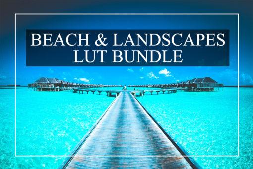 Beautiful Beach & Landscape LUTs Bundle