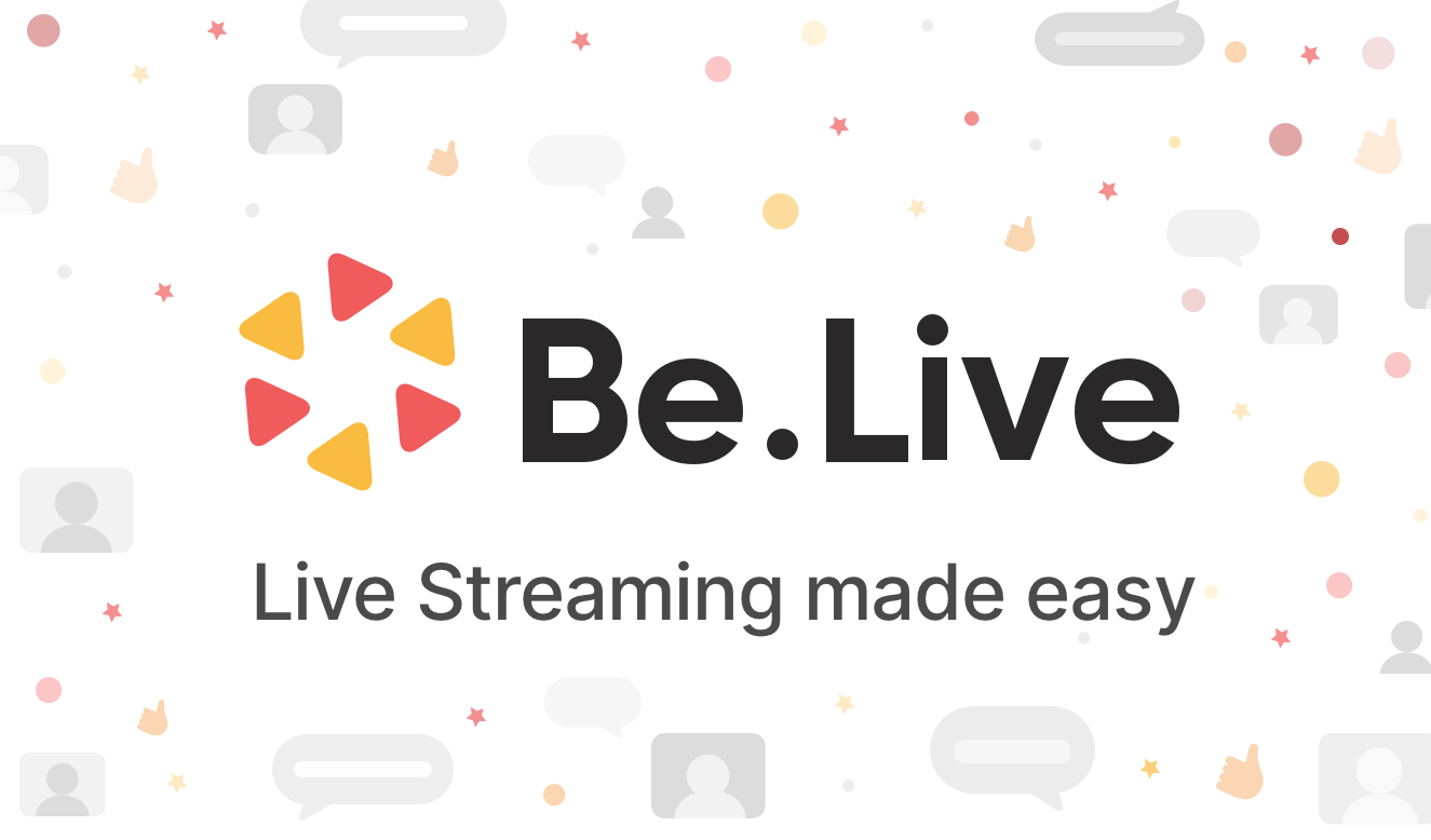 BeLive live streaming platform - filtergrade