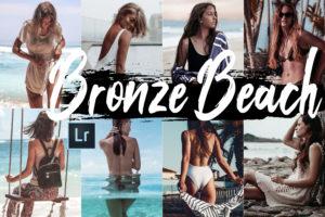 5 Bronze Beach Desktop Lightroom Presets