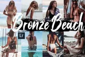 5 Bronze Beach Desktop Lightroom Presets