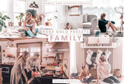 ROSE GOLD TONES - Lightroom Mobile Presets