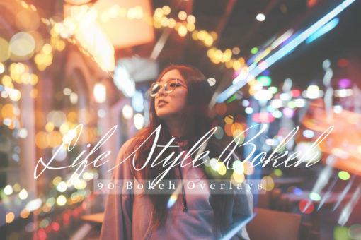 90 Lifestyle Bokeh Lights Effect Photo Overlays