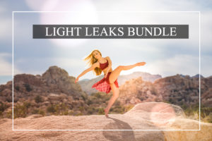 MyBeautifulPresets Light Leaks Preset Bundle for Lightroom (Desktop + Mobile)