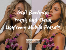 Gail Bowman Fresh and Clean Lightroom Mobile Presets