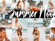 5 Summer Noon Desktop Lightroom Presets