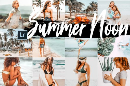 5 Summer Noon Desktop Lightroom Presets