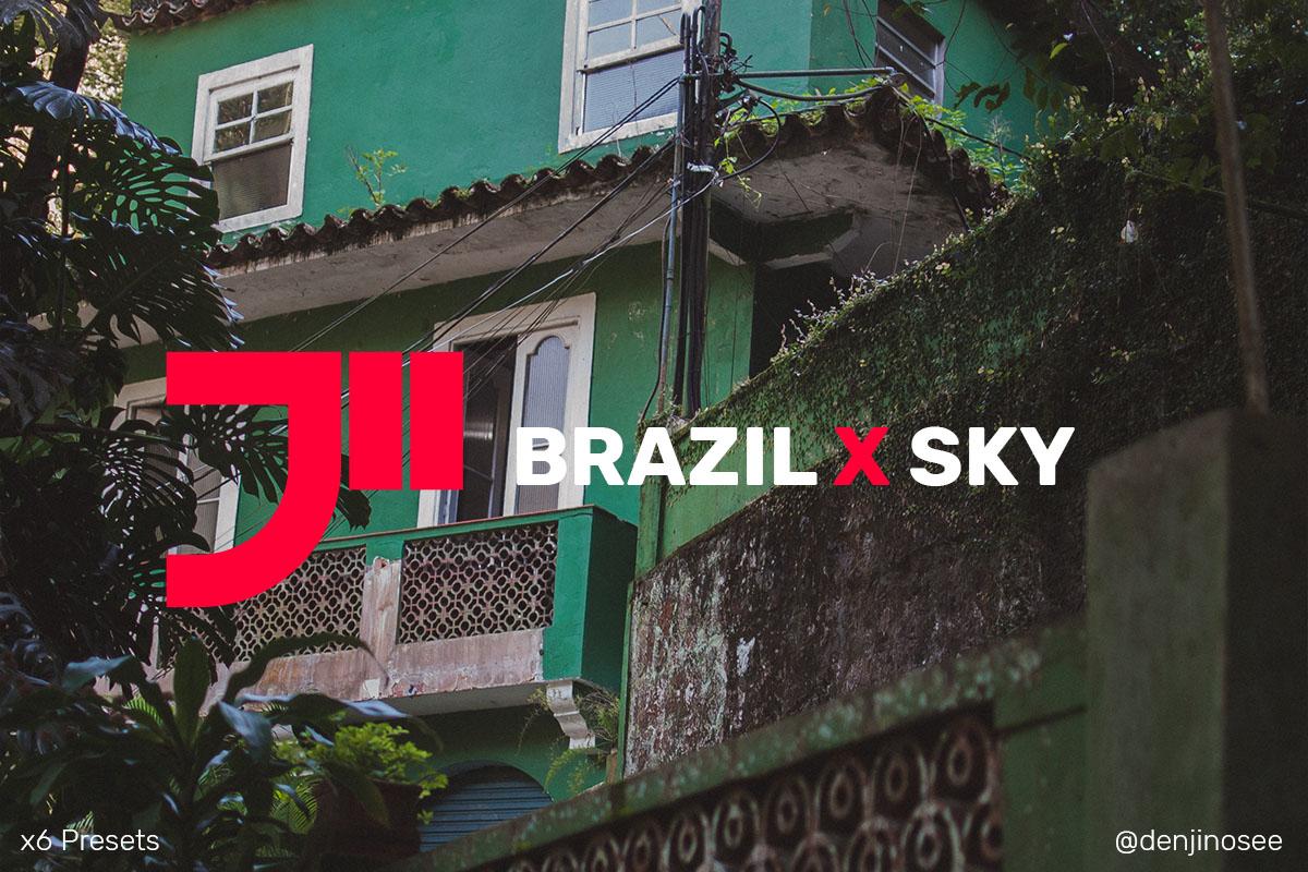 Brazil X Sky Lightroom Presets x6