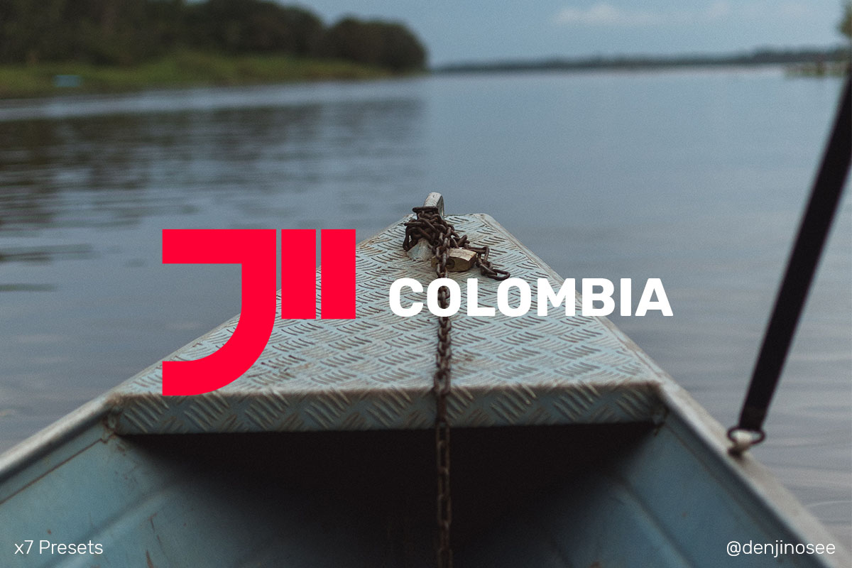 Colombia Lightroom Presets x7