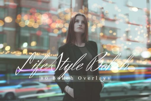 80 Life Style Bokeh Pack 02 Photo Overlays