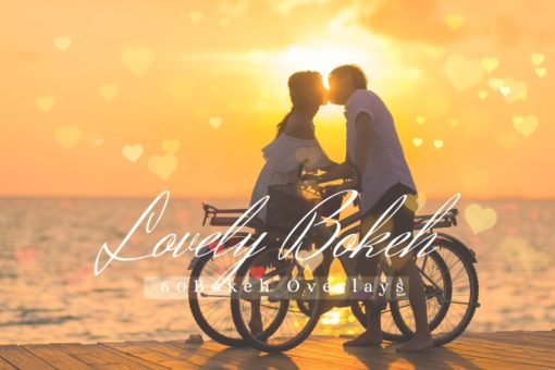 60 Lovely Bokeh Pack 02 Lights Effect Photo Overlays