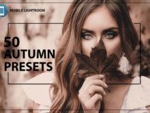 50 Autumn Mobile Lightroom Presets
