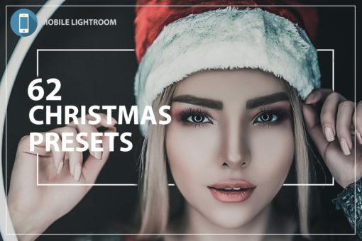 62 Christmas Mobile Lightroom Presets Bundle