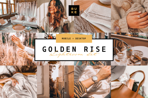 4 Golden Lightroom Presets Bundle