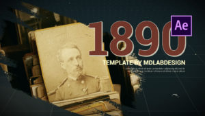 Life Story - History Slideshow After Effects Template