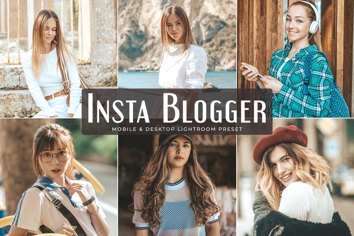 Presets para Lightroom Mobile insta blogger gratis