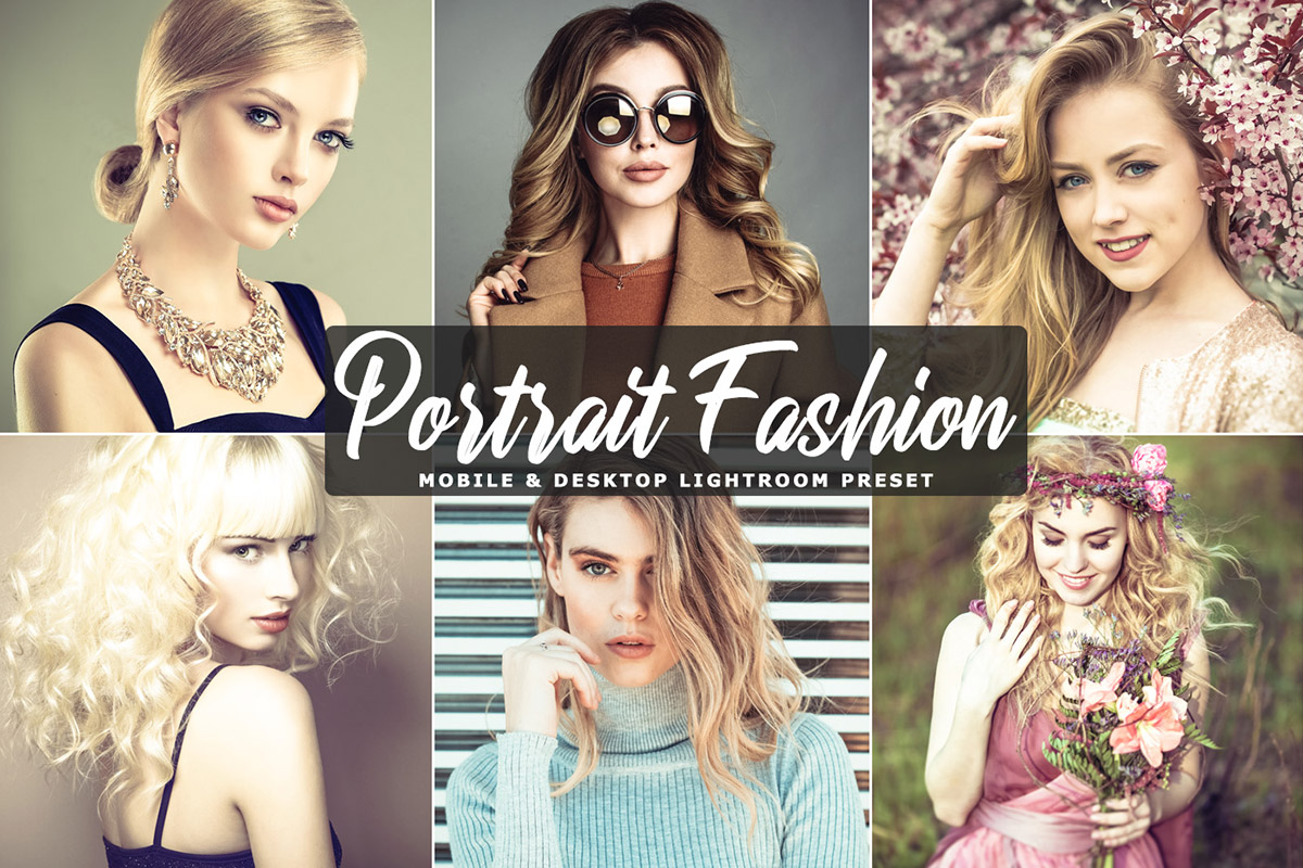 free portrait fashion mobile preset