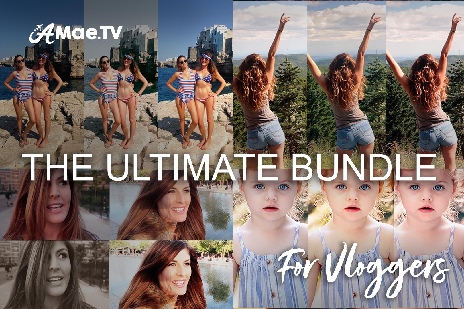 The Ultimate Travel Vlogger Bundle of Beautiful Video LUTS