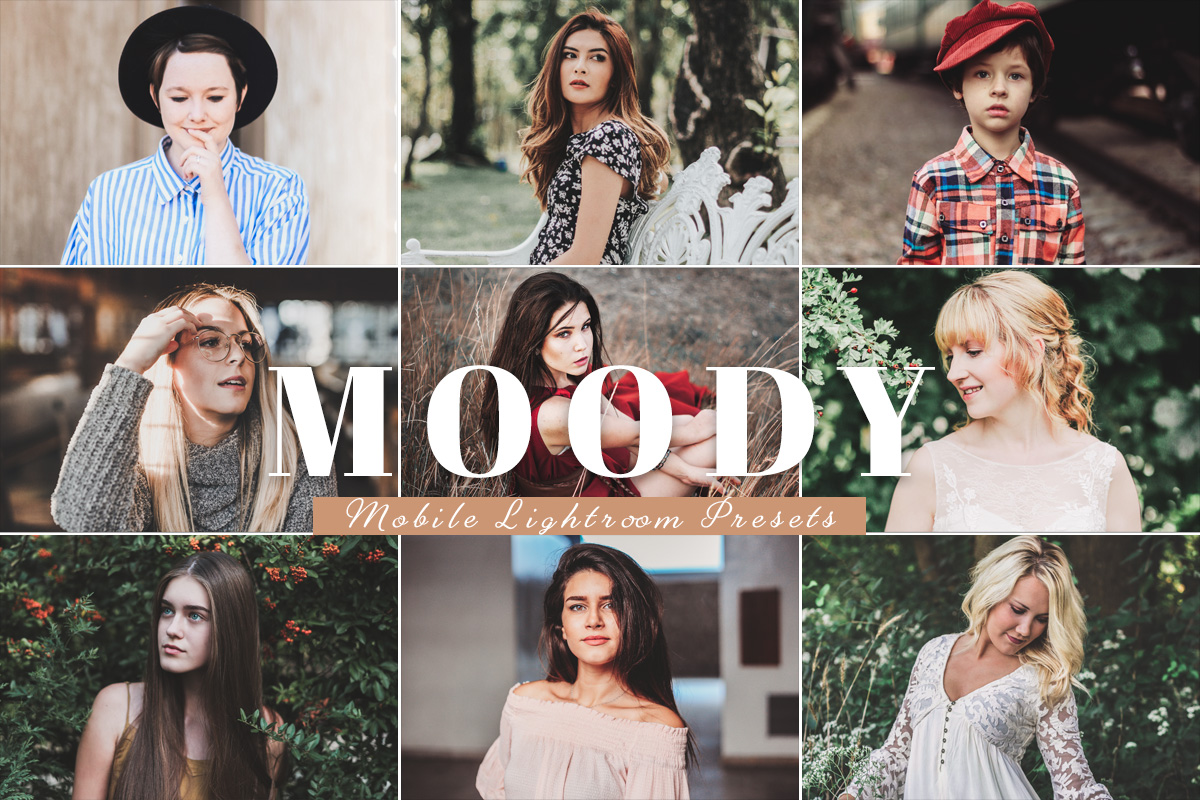free moody mobile presets