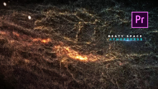 PhotoRealistic Galaxy Premiere Pro Template